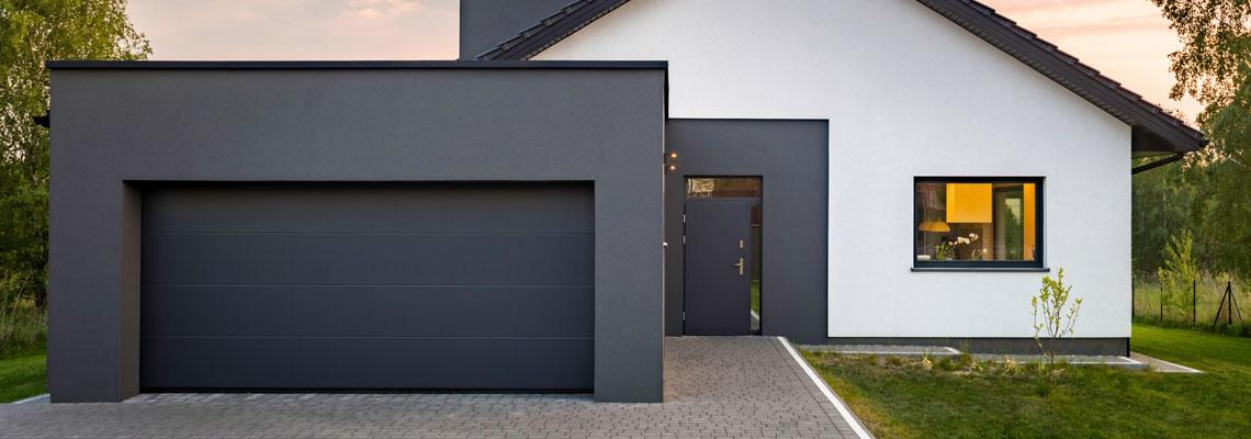 Une bonne porte de garage